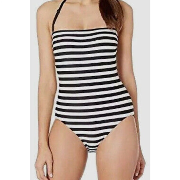 Kate Spade New Swimsuit Stripped